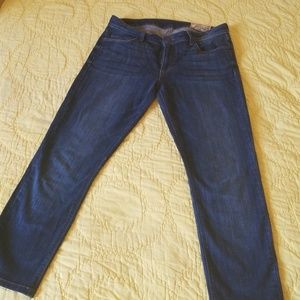 Jeans, women, skinny, Anthropologie, blue, denim
